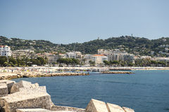 French Riviera in Europe Stock Photography
