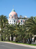 French Riviera - Famous places. French Riviera : Negresco hotel in Nice Royalty Free Stock Image