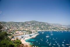 French Riviera lagoon Stock Photos
