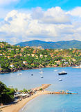 French Riviera landscape Stock Images