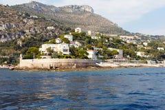 French Riviera Mediterranean coastline Stock Image