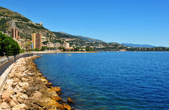 French Riviera. At Monte Carlo, Monaco Royalty Free Stock Photo