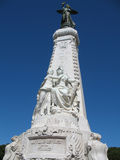 French Riviera monument in Nic Stock Images