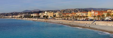 French Riviera Nice Stock Photos