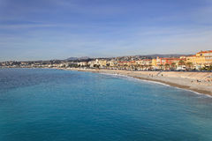 French Riviera Nice Stock Image
