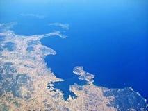 French Riviera - Toulon - Hyeres Stock Photo
