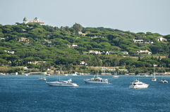 French Riviera views Royalty Free Stock Photo