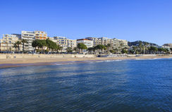 French Riviera in winter, Cannes, France Royalty Free Stock Photo