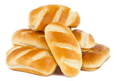 French rolls Royalty Free Stock Photos