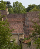 French Roofs Royalty Free Stock Photography