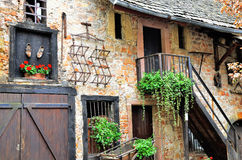 French rural chateau Stock Image