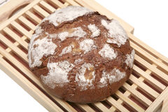 French rye bread close up Stock Photo