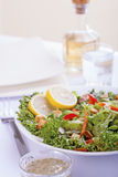 French Salad. Salad with French dressing.(Vertical stock images