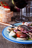 French salad nicoise Stock Image