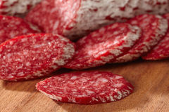 French salami Royalty Free Stock Photography