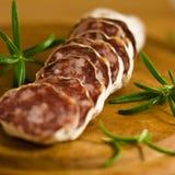French Salami Stock Photo