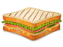French Sandwich Icon Royalty Free Stock Image