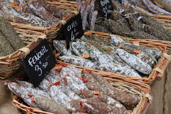 French saussages of Provence Royalty Free Stock Images