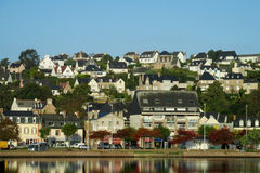 French seaside village beautiful view Royalty Free Stock Photo