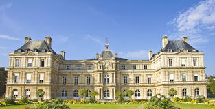 French Senate, Jardin du Luxembourg Stock Photo