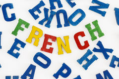 French Royalty Free Stock Image
