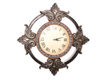 French shabby chic wall clock Stock Photography
