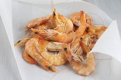 French shrimps Royalty Free Stock Photography