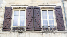 French Shutters Royalty Free Stock Photos