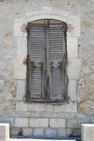 French shutters Stock Photo
