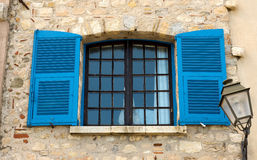 French Shutters and Windows Stock Image