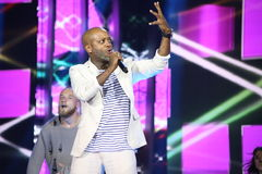 French singer Willy William performs during the 25th Slavyansky Bazar Festival Stock Image