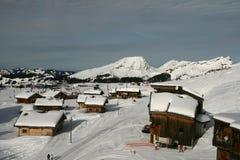French ski resort Royalty Free Stock Image