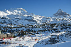 French ski resort Pierre Saint Martin Stock Photography