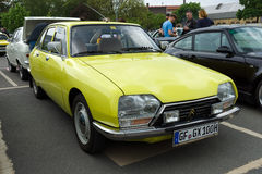 French Small family car Citroen GS Berline royalty free stock photo