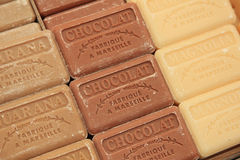 French soap at a market stall Royalty Free Stock Photos