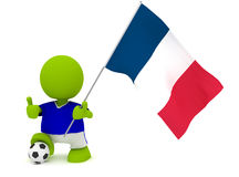 French Soccer Stock Photo