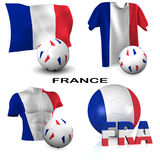 French Soccer Stock Images
