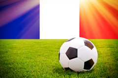 French soccer Royalty Free Stock Photos