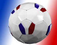 French soccer ball Stock Photo