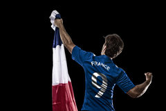 French soccer player Stock Photos