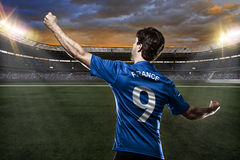 French soccer player Stock Image