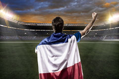 French soccer player Royalty Free Stock Photos