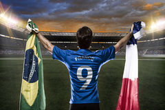 French soccer player Stock Photography
