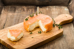 French soft cheese Stock Image