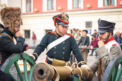 French soldier Stock Photography