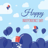 French Southern Territories Independence Day Flat. Stock Photography