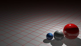 FRENCH spheres stock footage