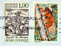 French stamps Stock Images