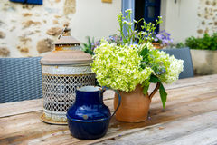 French still life outdoor Stock Photography