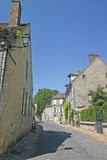 French street and houses Stock Images